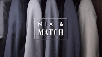 JoS. A. Bank Stock Up Sale TV Spot, 'Mix and Match Suits' - Thumbnail 4