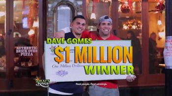 DraftKings Fantasy Football TV Spot, \'Real People, Real Winnings\'