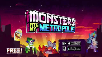 Monsters Ate My Metropolis TV Spot, 'I'm Your Boss' - Thumbnail 8