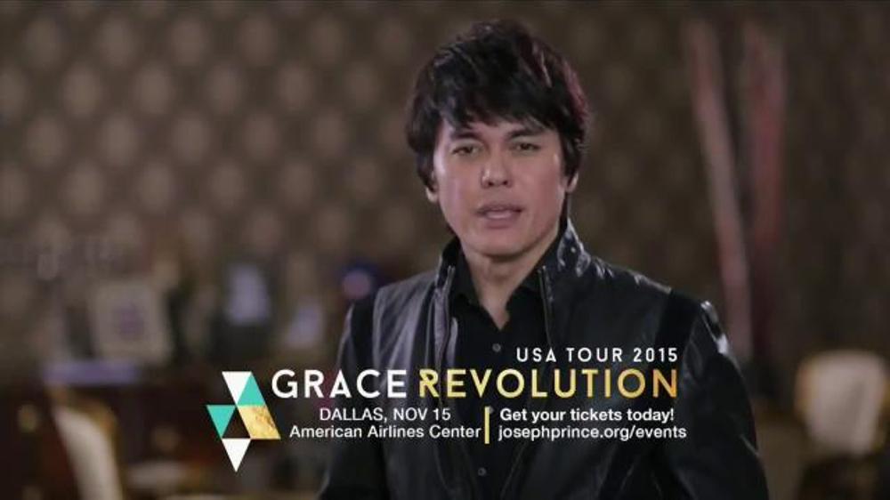 Joseph Prince Grace Revolution USA Tour TV Commercial, 'Special Word'