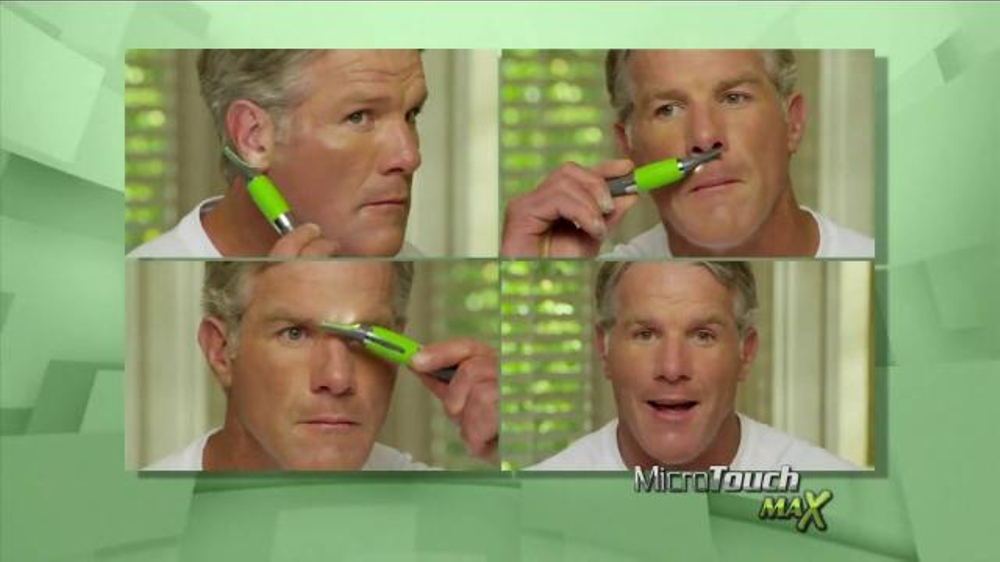 MicroTouch Max TV Commercial, 'Look Your Best' Featuring Brett Favre