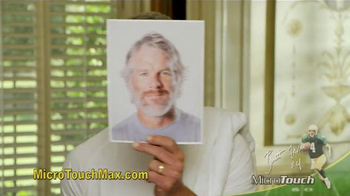MicroTouch Max TV Spot, 'Look Your Best' Featuring Brett Favre - Thumbnail 1