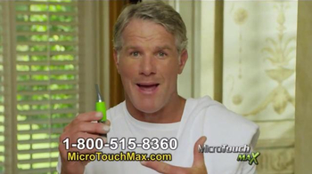 MicroTouch Max TV Spot, 'Look Your Best' Featuring Brett Favre - Thumbnail 9