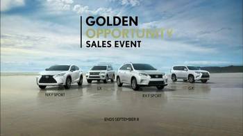 Lexus Golden Opportunity Sales Event TV Spot, 'Sage Ranch Freedom' - Thumbnail 3
