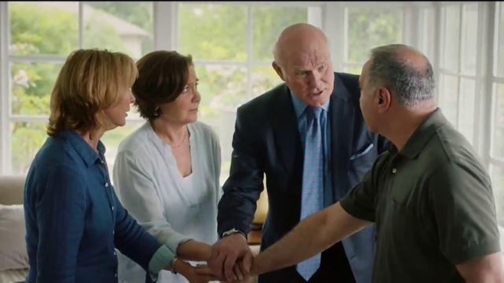 Merck TV Commercial, 'Surprise Door Knock' Featuring Terry Bradshaw