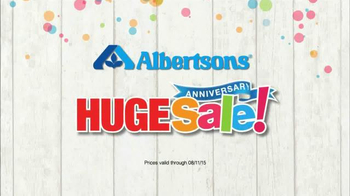 Albertsons Huge Anniversary Sale TV Spot, 'Chicken and Snacks' - Thumbnail 7