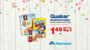 Albertsons Huge Anniversary Sale TV Spot, 'Chicken and Snacks' - Thumbnail 4