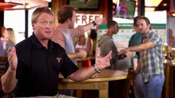 Hooters TV Spot, 'NFL Fantasy Football Destination' Featuring Jon Gruden - 150 commercial airings