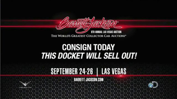 Barrett-Jackson Eighth Annual Las Vegas Auction TV Spot, 'Consign Your Car' - Thumbnail 6
