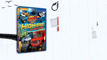 Blaze and the Monster Machines: High-Speed Adventures DVD TV Spot - Thumbnail 1
