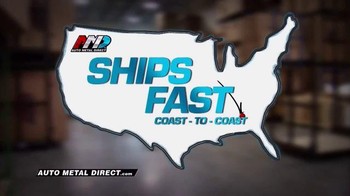 Auto Metal Direct TV Spot, 'Ships Fast' - Thumbnail 4