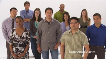 NumbersUSA TV Spot, 'It's About the Numbers'
