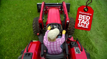Mahindra Red Tag Sale TV Spot, 'Never Buy Another Tractor' - Thumbnail 1