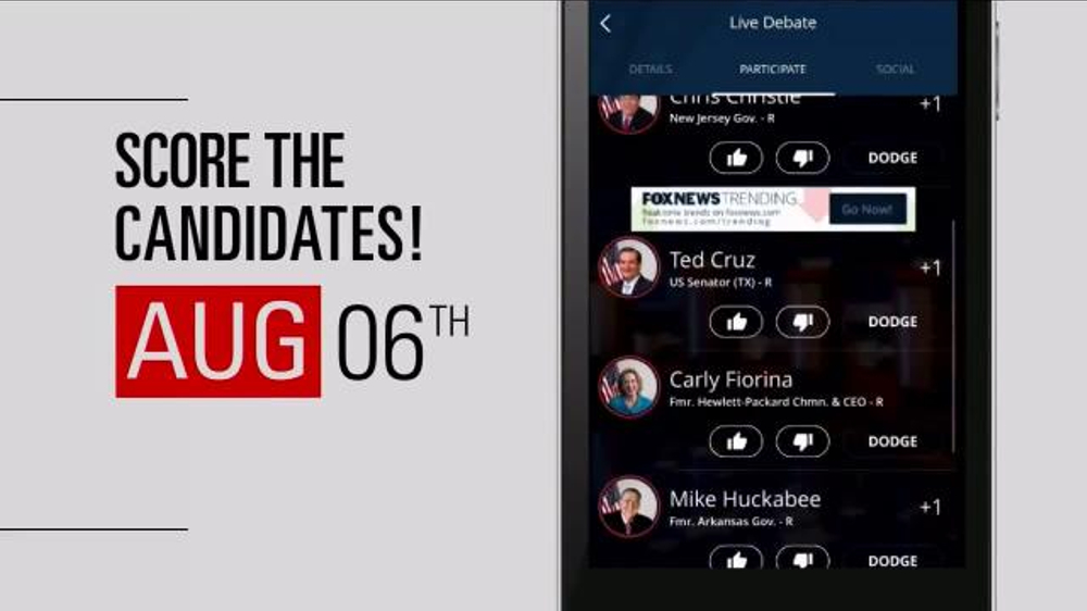FOX News 2016 Election HQ App TV Commercial - Video