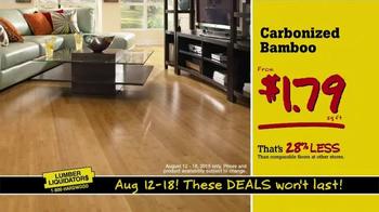 Lumber Liquidators TV Spot, 'Consolidating Inventory' - Thumbnail 6