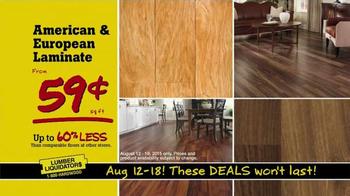 Lumber Liquidators TV Spot, 'Consolidating Inventory' - Thumbnail 7