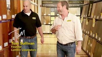 Lumber Liquidators TV Spot, 'Consolidating Inventory' - Thumbnail 9