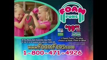 Foam Funs TV Spot, 'Super Strong' - Thumbnail 9