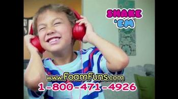 Foam Funs TV Spot, 'Super Strong' - Thumbnail 6