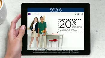 Sears Súper Sábado de Liquidación TV Spot, 'Regreso a la escuela' [Spanish] - Thumbnail 7