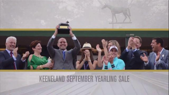 Keeneland September Yearling Sale TV Spot, 'Winners Circle' - Thumbnail 5