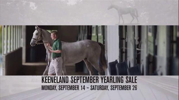 Keeneland September Yearling Sale TV Spot, 'Winners Circle' - Thumbnail 6