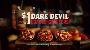 Taco Bell Dare Devil Loaded Grillers TV Spot, 'I Dare You' - 5649 commercial airings