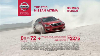 Nissan Bottom Line Model Year-End Event TV Spot, 'Good Look' - Thumbnail 4