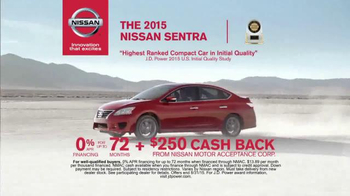 Nissan Bottom Line Model Year-End Event TV Spot, 'Good Look' - Thumbnail 5