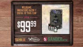 Gander Mountain TV Spot, 'Trail Cams and Tree Stands' - Thumbnail 3