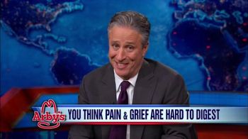 Arby's TV Spot, 'To Jon Stewart: Thank You for Being a Friend' - 2 commercial airings