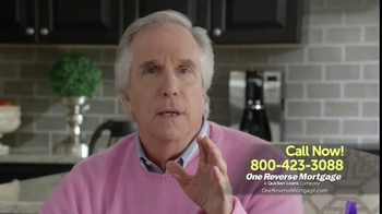 One Reverse Mortgage TV Spot, 'Retire With Savings' Featuring Henry Winkler - Thumbnail 4