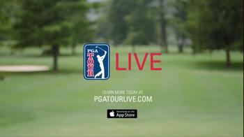 PGA Tour Live TV Spot, 'Hello' Feat. Keegan Bradley Song by Lionel Richie - Thumbnail 7