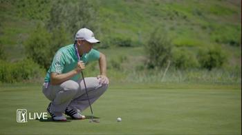 PGA Tour Live TV Spot, 'Hello' Feat. Keegan Bradley Song by Lionel Richie - Thumbnail 4