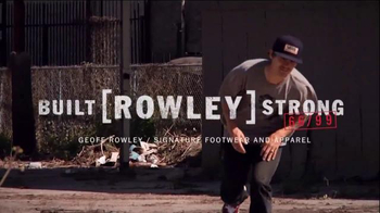 Vans TV Spot, 'Built [ROWLEY] Strong' Featuring Geoff Rowley