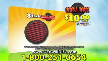 Grill Disk TV Spot, 'Real Barbeque Flavor' - Thumbnail 8