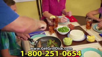 Grill Disk TV Spot, 'Real Barbeque Flavor' - Thumbnail 6