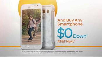 AT&T TV Spot, 'Samsung Galaxy S6 Active: Extra Credit' - Thumbnail 6