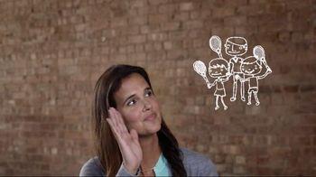 Youth Tennis TV Spot, 'Family Tennis' Featuring Mary Joe Fernandez