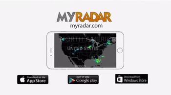 Myradar.com App TV Spot, 'Instant Weather Forecast' - Thumbnail 7