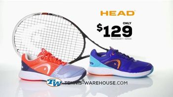 Tennis Warehouse TV Spot, \'Head Racket and Shoes\'