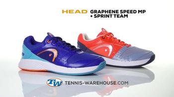 Tennis Warehouse TV Spot, 'Head Racket and Shoes' - Thumbnail 3