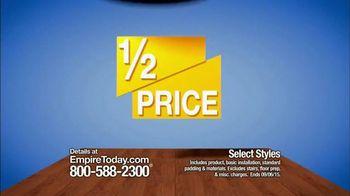 Empire Today Half Price Sale TV Spot, 'Save Big'