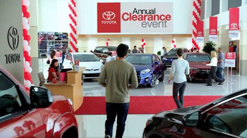 Toyota Annual Clearance Event TV Spot, 'Bold Deal' - Thumbnail 1