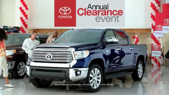 Toyota Annual Clearance Event TV Spot, 'Bold Deal' - Thumbnail 2