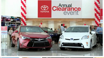 Toyota Annual Clearance Event TV Spot, 'Bold Deal' - Thumbnail 5