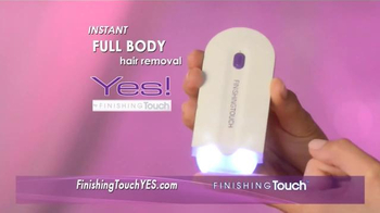 Finishing Touch TV Spot, 'Instant Painless Hair Removal' Ft. Fran Drescher - Thumbnail 3