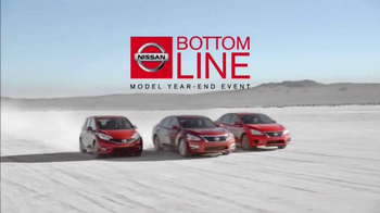 Nissan Bottom Line Model Year-End Event TV Spot, 'Redesigned' - Thumbnail 5