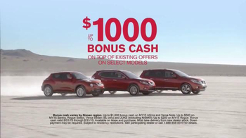 Nissan Bottom Line Model Year-End Event TV Spot, 'Redesigned' - Thumbnail 7