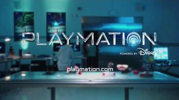 Playmation Marvel Avengers Repulsor Starter Pack TV Spot, 'Disney Channel: Avengers Lab' - Thumbnail 8
